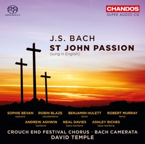 CD cover for St John Passion