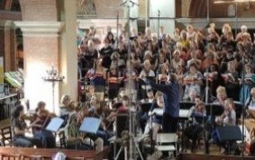 CEFC recording Bach's St John Passion in September 2016 at St Jude's Hampstead Garden Suburb | Picture: Paul Robinson